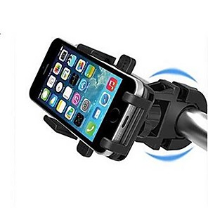 cheap Bike Handlebar Bags-Bike Phone Mount 360°Rolling / Rotatable Durable For Mountain Bike / MTB Road Bike Cycling / Bike BMX TT Cycling Bicycle ABS Black
