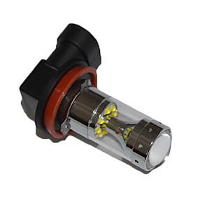 cheap Car Headlights-1pcs H8 H9 H11 Car Light Bulbs 60W High Performance LED Fog Light Car Driving Light Foglamps  Canbus Error Free