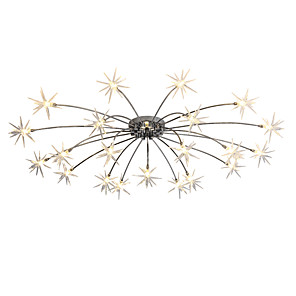 cheap Ceiling Lights-105 cm Mini Style / Designers Chandelier Metal Chrome Modern Contemporary 110-120V / 220-240V / G4 / 4-pin