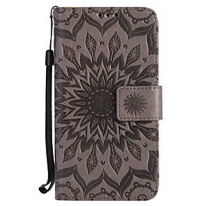 cheap Other Phone Case-Case For Motorola Moto Z / Moto Z Force / Moto G4 Play Wallet / Card Holder / with Stand Full Body Cases Mandala Hard PU Leather