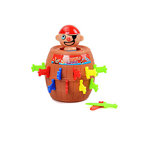 cheap Building Blocks-Building Blocks Board Game Pop Up Pirate Construction Set Toys Educational Toy Pirate Pirates Boys' Girls' Toy Gift