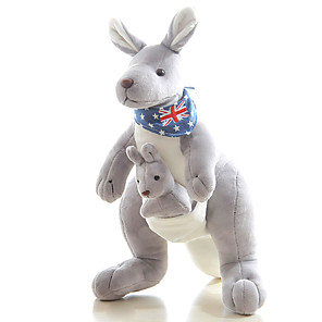 cheap Stuffed Animals-Family Kangaroo Puppets Stuffed Animal Plush Toy Cute Fun Girls' Toy Gift 1 pcs / Kid's