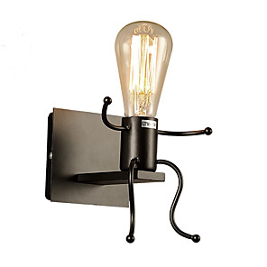 cheap Indoor Wall Lights-Rustic / Lodge / Modern Contemporary / Novelty Wall Lamps & Sconces Metal Wall Light 110-120V / 220-240V 40 W / E27