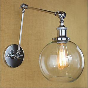 cheap Indoor Wall Lights-Country / Retro Swing Arm Lights Metal Wall Light 110-120V / 220-240V 40W