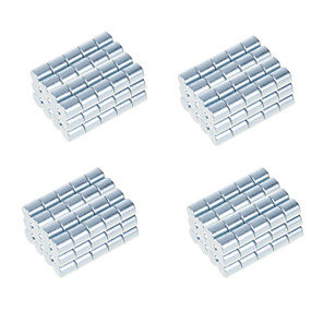 cheap Toy Cars-100 pcs 10*10mm Magnet Toy Building Blocks Super Strong Rare-Earth Magnets Neodymium Magnet Adults' Boys' Girls' Toy Gift