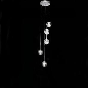 cheap Cluster Design-5-Light 25 cm LED Pendant Light Metal Cluster Electroplated Modern Contemporary 110-120V / 220-240V
