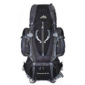 cheap Backpacks & Bags-70 L Hiking Backpack Rucksack Multifunctional Rain Waterproof Dust Proof Wear Resistance Outdoor Camping / Hiking Climbing Black Blue Orange