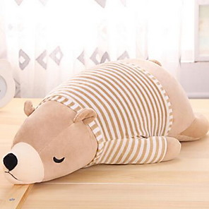 cheap Stuffed Animals-Stuffed Animal Pillow Plush Toys Plush Dolls Stuffed Animal Plush Toy Bear Polar bear Cute Large Size Plush Fabric Imaginative Play, Stocking, Great Birthday Gifts Party Favor Supplies Boys and Girls