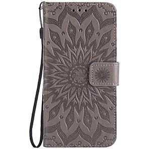 cheap Other Phone Case-Case For LG K8 / LG / LG G5 LG X Power / LG V20 / LG V10 Wallet / Card Holder / Flip Full Body Cases Flower Hard PU Leather / LG K10