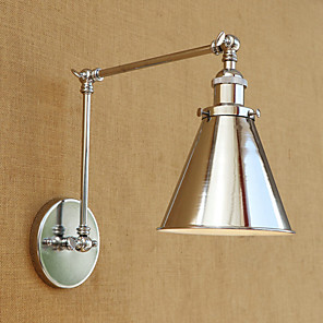 cheap Indoor Wall Lights-Modern/Contemporary Country Retro Swing Arm Lights For Metal Wall Light 110-120V 220-240V 40W