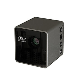 cheap Portable Speakers-UNIC DLP LED Projector 30 lm Support 1080P (1920x1080) 4:3 inch / nHD (640x360) / ±15°
