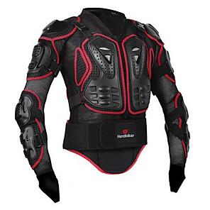6a89b720472e3 Chaqueta protectora de la motocicleta del motorista del héroe motocrós que  compite con la armadura chaqueta