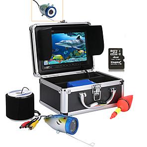 cheap CCTV Cameras-MOUNTAINONE 30M 7'' Color Digital LCD 1000TVL HD DVR Recorder IP68 Waterproof Underwater Fishing Camera CMOS 4400mAh Battery Monitoring Depth 30m