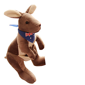 cheap Stuffed Animals-1 pcs Puppets Stuffed Animal Plush Toys Plush Dolls Stuffed Animal Plush Toy Kangaroo Cute Fun Imaginative Play, Stocking, Great Birthday Gifts Party Favor Supplies Girls' Kid's