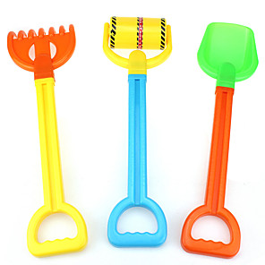 cheap Beach & Sand Toys-Beach Toy Beach Sand Toys Set Water Toys 3 pcs Plastic Novelty For Kid's Adults'