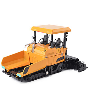 cheap Toy Trucks & Construction Vehicles-KDW 1:40 Metalic Truck Asphalt Paver Toy Truck Construction Vehicle Toy Car Educational Car Develop Creativity Unisex Boys' Girls' Kid's Car Toys