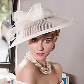 رخيصةأون الزفاف والمناسبات-ريشة جاذبية الزينة القبعات خوذة