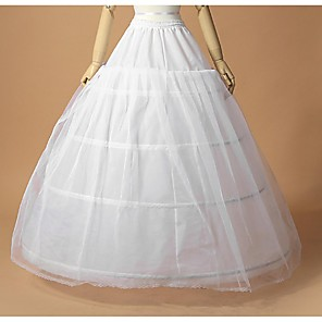 cheap Wedding Slips-Wedding / Special Occasion Slips Tulle / Polyester Floor-length A-Line Slip / Ball Gown Slip with