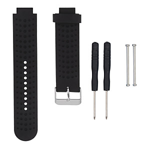cheap Smartwatch Bands-Watch Band for Forerunner 735 / Forerunner 630 / Forerunner 620 Garmin Sport Band Silicone Wrist Strap / Forerunner 235 / Forerunner 230 / Forerunner 220 Send With Repair Tools
