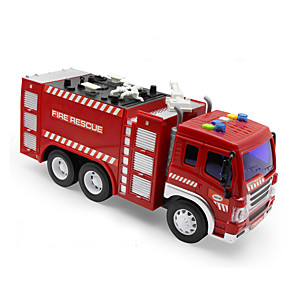 cheap Stuffed Animals-Fire Engine Pull Back Vehicles Plastic for Kid's Boys' Girls'