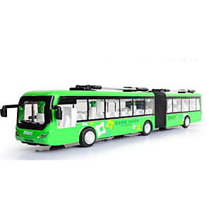 cheap RC Cars-Pull Back Vehicle Bus Metalic for Kid's
