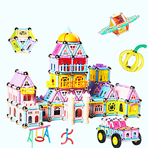 cheap Costumes Jewelry-Building Blocks Toys Architecture Magnetic Not Specified Pieces