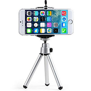 cheap Phone Mounts & Holders-Bed / Desk / Outdoor Universal / Mobile Phone Mount Stand Holder Tripod Universal / Mobile Phone Metal Holder