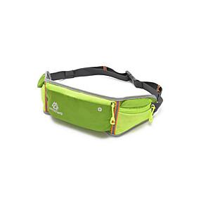 cheap Running Bags-Belt Pouch / Belt Bag Running Pack 4L for Marathon Sports Bag Waterproof Rain Waterproof Waterproof Zipper Running Bag