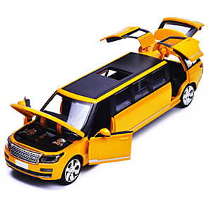 cheap Toy Cars-1:50 Toy Car Model Car Classic Car Classic Simulation Music & Light Metal Alloy Mini Car Vehicles Toys for Party Favor or Kids Birthday Gift 1 pcs