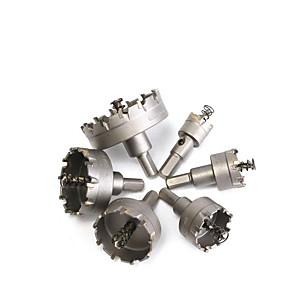 cheap Novelties-22-65mm Set Carbide Holder High-grade Stainless Steel Cutter Metal Reamer Drill