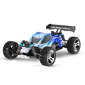 cheap RC Cars-RC Car WLtoys A959 2.4G Buggy (Off-road) / Off Road Car / Drift Car 1:18 Brush Electric 45 km/h Remote Control / RC / Rechargeable / Electric