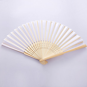 cheap Gifts & Decorations-Hand Fans Fans and Parasols Handle Party