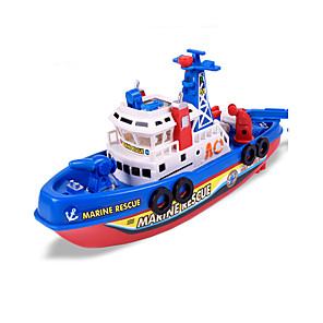 cheap Toy Cars-Bath Toy Warship Ship Electric Plastic for Kid's Adults'