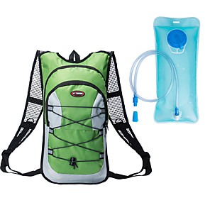 cheap Running Bags-Commuter Backpack Running Pack 12 L for Running Camping / Hiking Bike / Cycling Sports Bag Multifunctional Waterproof Wearable Running Bag