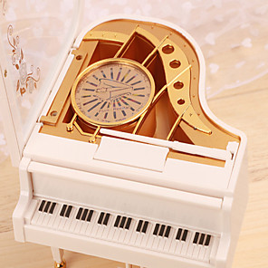 cheap Music Boxes-Music Box Classic Heart Unique Wooden Women's Unisex Boys' Girls' Kid's Adults Kids Graduation Gifts Toy Gift