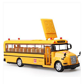 cheap Toy Cars-KDW Toy Car Model Car Bus Music & Light Plastic for Kid's