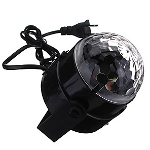 cheap Stage Lights-LED Stage Light Magic LED Light Ball Party Disco Club DJ Show Lumiere LED Crystal Light Laser Projector # - - - Auto Strobe