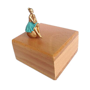 cheap Music Boxes-Music Box Wooden Music Box Antique Music Box Duck Unique Resin Wood Women's Unisex Girls' Kid's Adults Graduation Gifts Toy Gift
