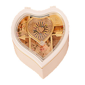 cheap Music Boxes-Music Box Music Jewelry box Piano Ballet Dancer Unique ABS Women's Unisex Girls' Kid's Adults Graduation Gifts Toy Gift