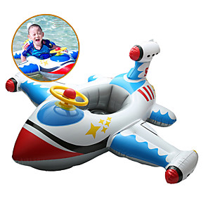 cheap Inflatable Ride-ons & Pool Floats-Inflatable Pool Float Inflatable Ride-on Inflatable Pool Ride On Pool Float PVC Summer Plane / Aircraft Pool Kid's Adults'