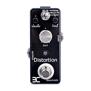 cheap Amplifiers & Effects-Eno Music EX Micro DM-3 Metal Distortion Guitar Effect Pedal Micro As MOOER