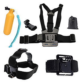 cheap Accessories For GoPro-Chest Harness Front Mounting Floating Buoy All in One 1 pcs For Action Camera Gopro 6 All Gopro Xiaomi Camera Gopro 4 Black SJCAM Diving Surfing Ski / Snowboard PVC(PolyVinyl Chloride) Cotton ABS