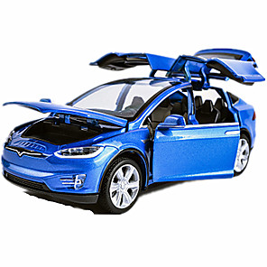 cheap Toy Cars-1:64 Toy Car Model Car Car Classic Car Music & Light Pull Back Vehicles Plastic Metal Mini Car Vehicles Toys for Party Favor or Kids Birthday Gift 1 pcs / Kid's