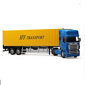 cheap Toy Trucks & Construction Vehicles-H1 / Hua Yi Plastic Truck Excavator Cargo Truck Toy Truck Construction Vehicle Toy Car Model Car Simulation Truck Excavating Machinery Boys' Kid's Car Toys