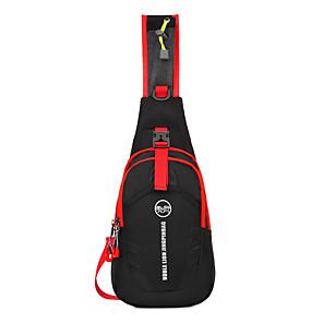 cheap Running Bags-Shoulder Messenger Bag Running Pack 15 L for Camping / Hiking Leisure Sports Traveling Sports Bag Multifunctional Waterproof Wearable Running Bag