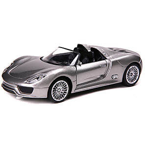 cheap Toy Cars-1:32 Toy Car Model Car Race Car Music & Light Pull Back Vehicles Metalic Mini Car Vehicles Toys for Party Favor or Kids Birthday Gift