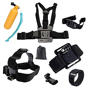 cheap Accessories For GoPro-Sports Action Camera Chest Harness Front Mounting Multi-function Foldable Adjustable 1 pcs For Action Camera Gopro 6 All Gopro Xiaomi Camera Gopro 4 Session Gopro 4 Black Diving Surfing Ski / SJCAM