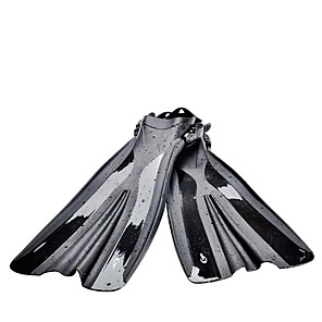 cheap Wetsuits, Diving Suits & Rash Guard Shirts-Diving Fins Swim Fins Long Blade Adjustable Strap Swimming Diving Snorkeling PVC(PolyVinyl Chloride) - for Adults Black