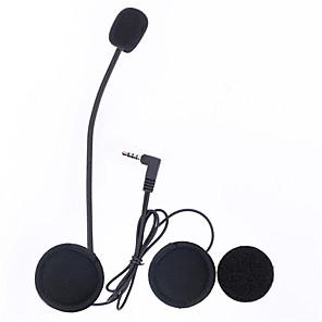 cheap Motorcycle Helmet Headsets-Vnetphone 3.5mm Jack Plug V6 intercom V4 Interphone Headset Accessories Earphone Stereo Suit for V6 Intercom V4 Helmet Interphone Accessories Parts