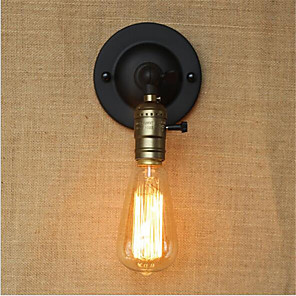 cheap Wall Sconces-Retro Wall Lamps & Sconces Wall Light 110-120V / 220-240V 40W